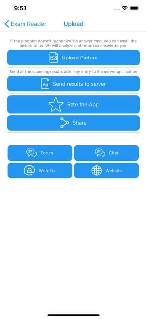 Exam Reader-Optical Test Grade on the App Store