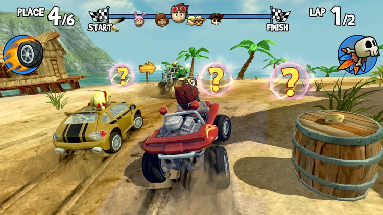 Beach Buggy Racing screenshot-0