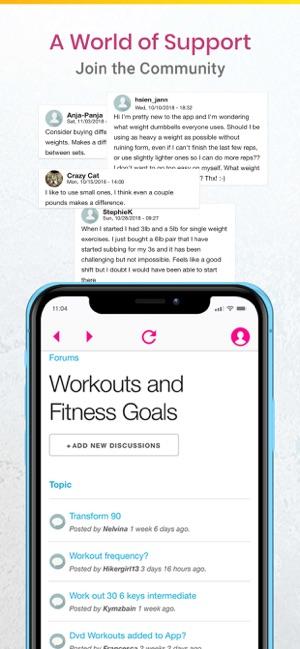 My Fitness By Jillian Michaels On The App Store