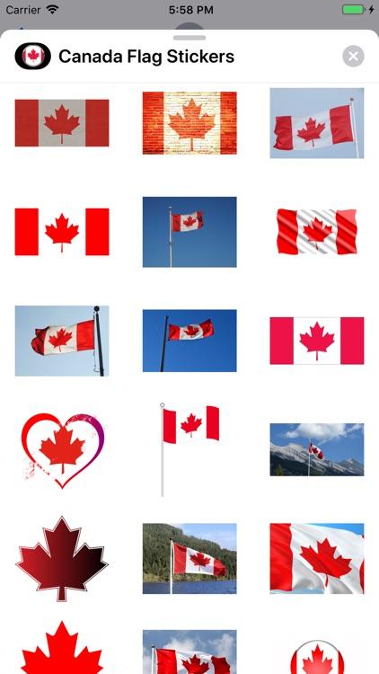 Canada Flag Stickers screenshot-3