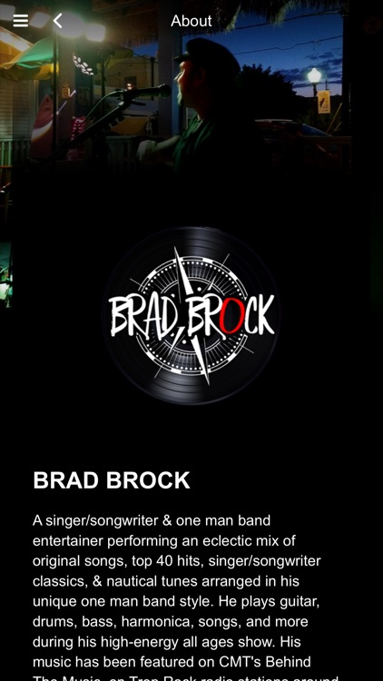 Brad Brock Music screenshot-0
