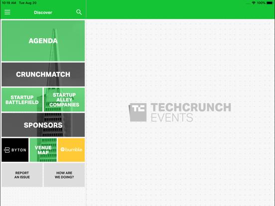 TechCrunch Disrupt Events screenshot 7