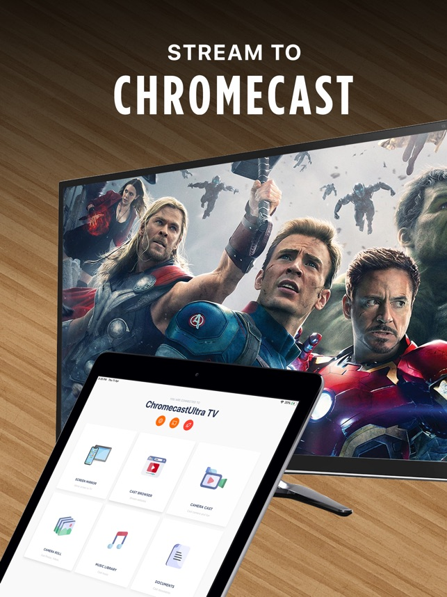 Streamer for Chromecast on the App Store