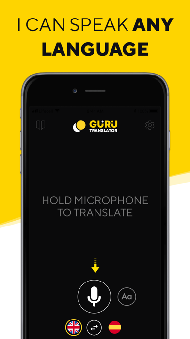 Translator Guru: Voice & Text Screenshot