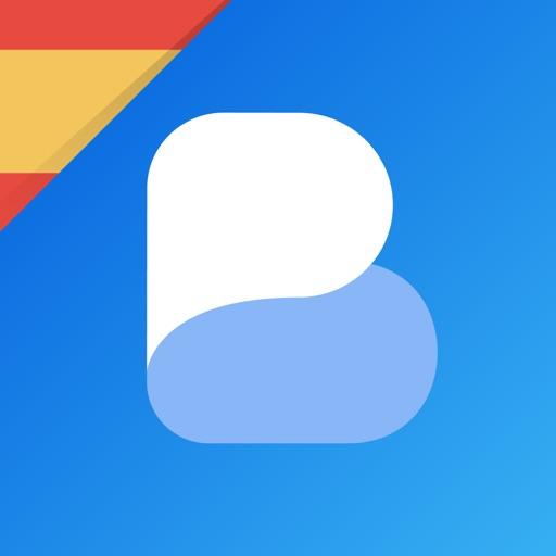 Learn Spanish with Busuu app logo