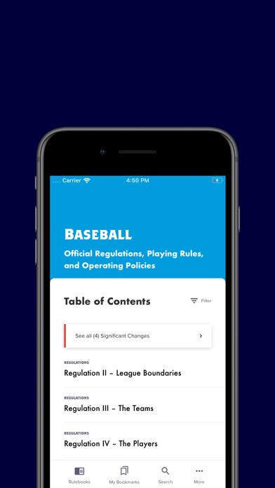 Little League Rulebook screenshot 2