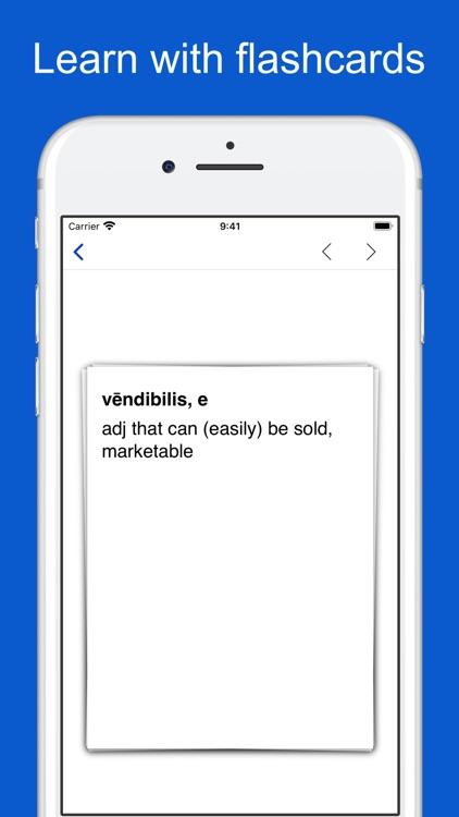 Latin-English-Latin Dictionary screenshot-8