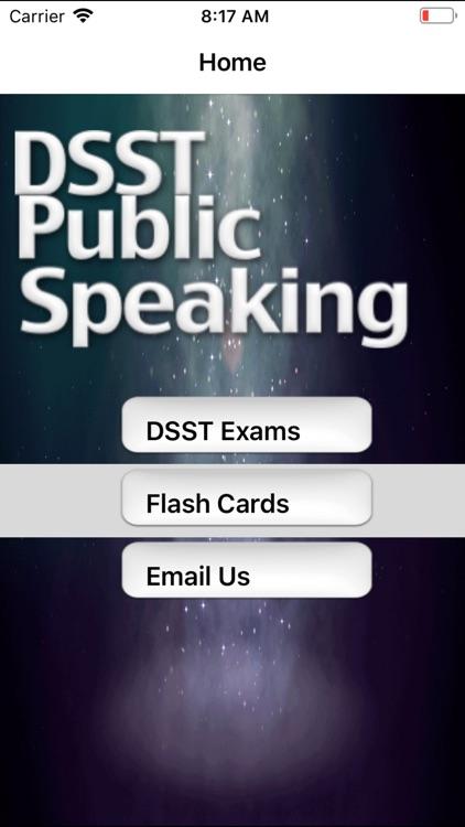 DSST Public Speaking Buddy
