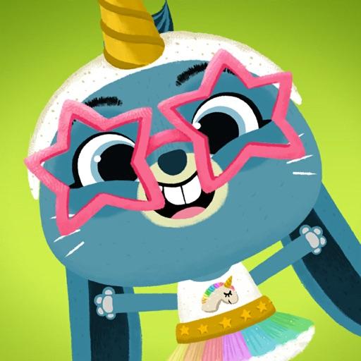 WoodieHoo Dress Up: Animal Fun app logo