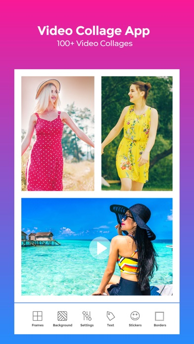 VideoFrame - Video Collage App screenshot one
