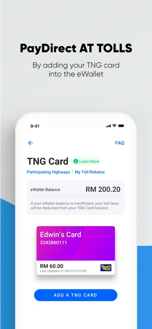 Touch 'n Go eWallet on the App Store
