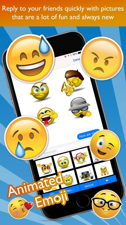 Animated Emoji Keyboard