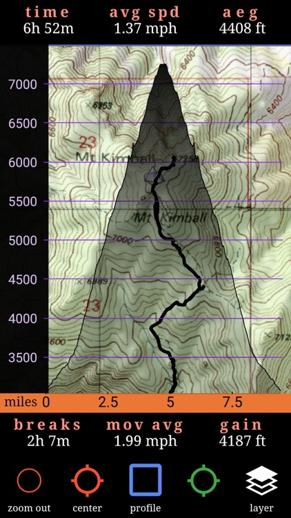 Route Scout - GPS Topo Mapper screenshot-1