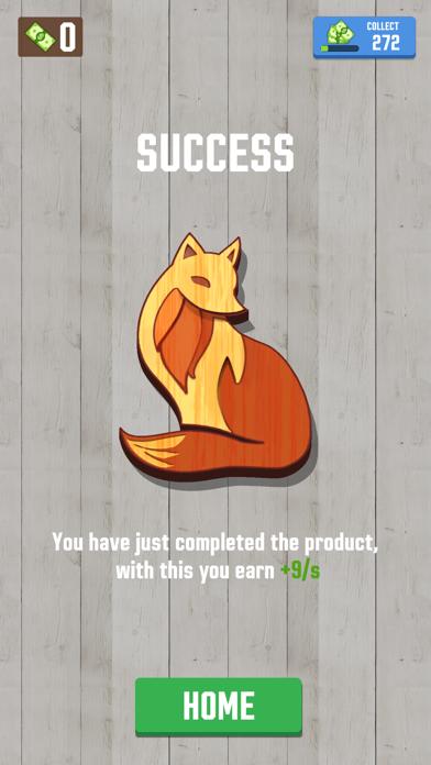 Woodcraft - 3D Carving Game screenshot 6
