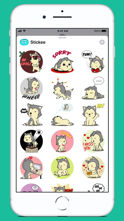 Stickee Stickers for iMessage screenshot-5