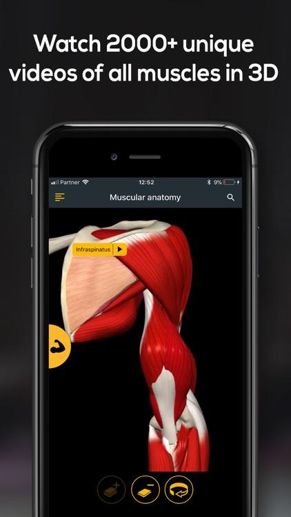 Anatomy by Muscle & Motion screenshot-4