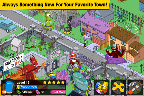 The Simpsons™: Tapped Out - náhled