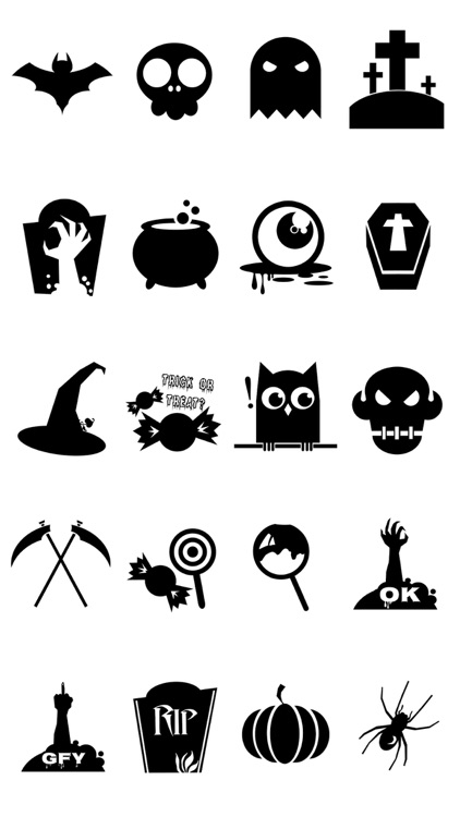 Halloween Mood Stickers 4 screenshot-4