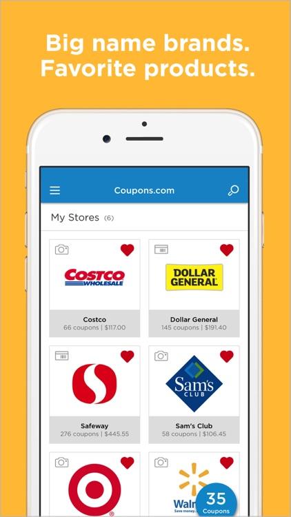 Coupons.com: Grocery coupons screenshot-3