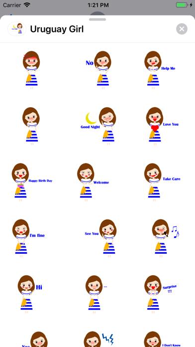 Uruguay Girl screenshot 1