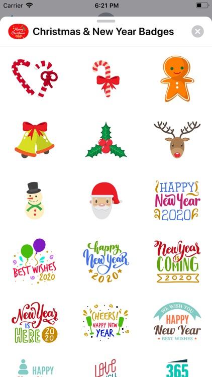 Christmas & New Year Badges screenshot-7