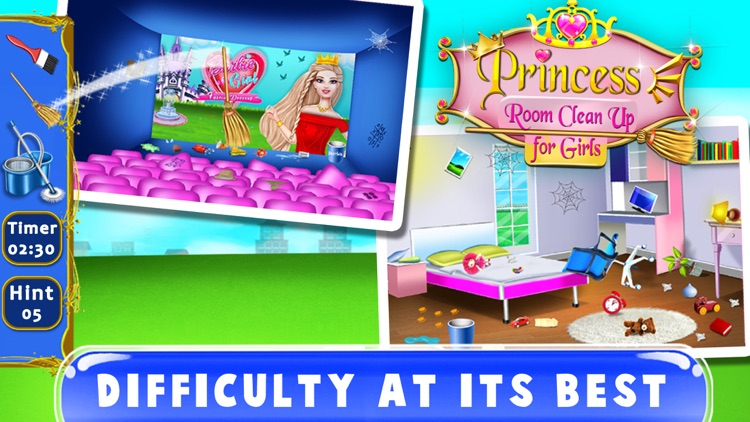 Princess Room Cleanup screenshot-4