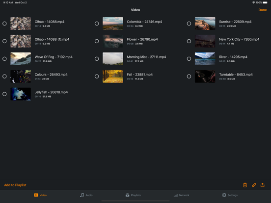 Azul - Video player for iPadのおすすめ画像7