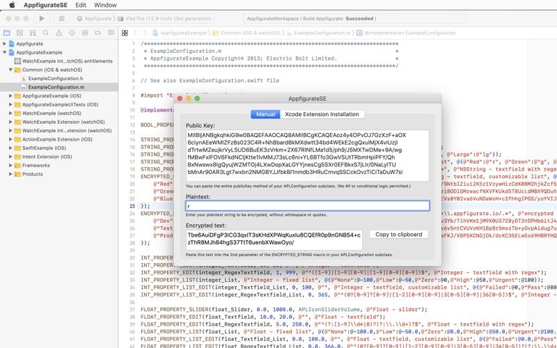 AppfigurateSE for Mac