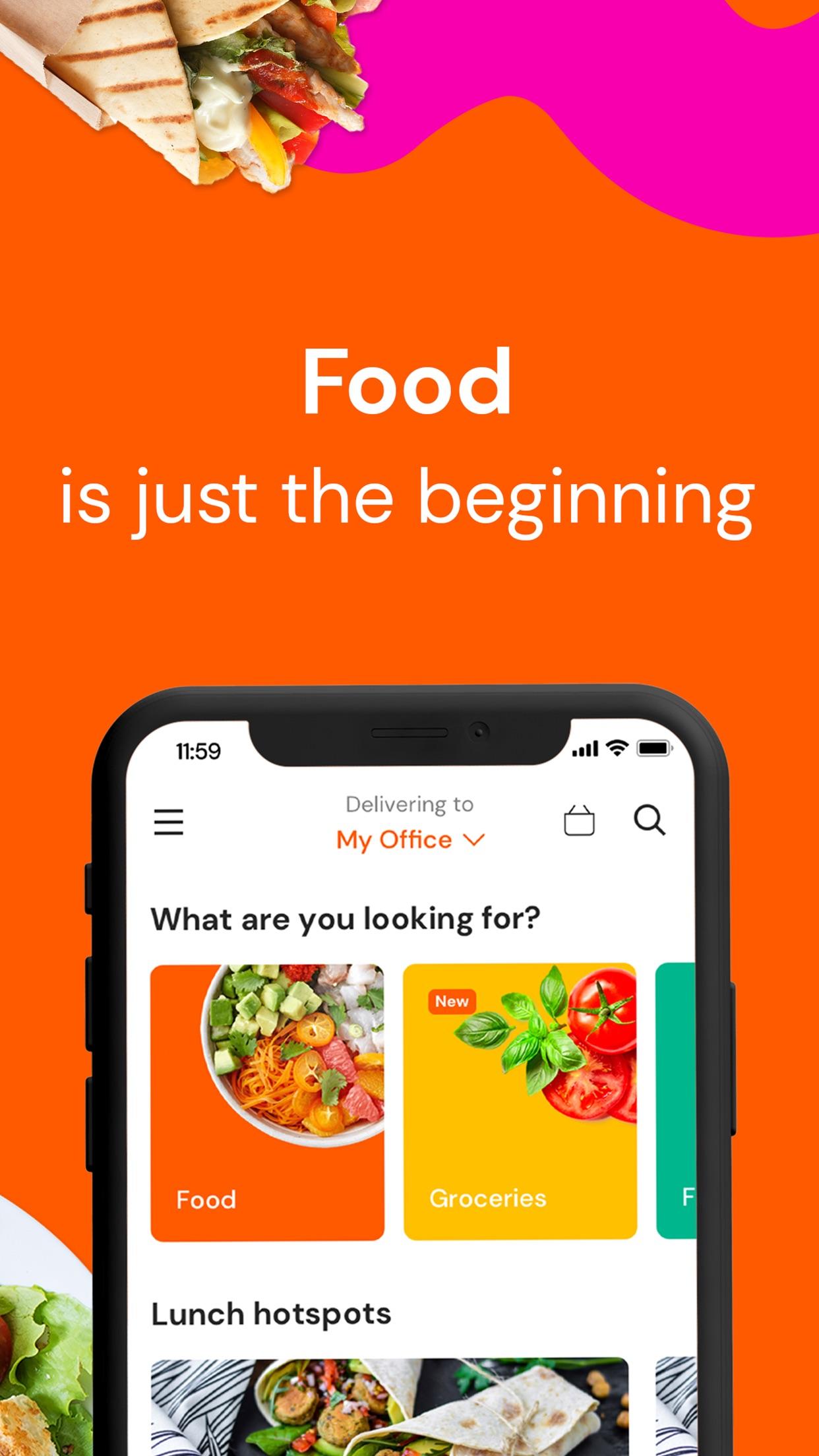 Talabat: Food & Grocery order Screenshot