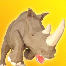 Rhino Rampage: City Simulator