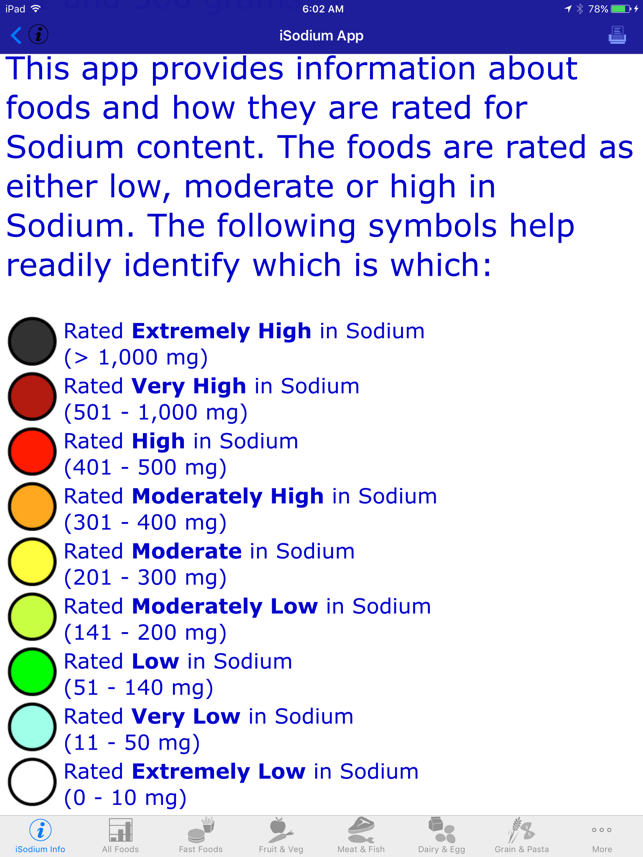 iOS iSodium App Update: Now with Extremely Powerful Search Facility Image