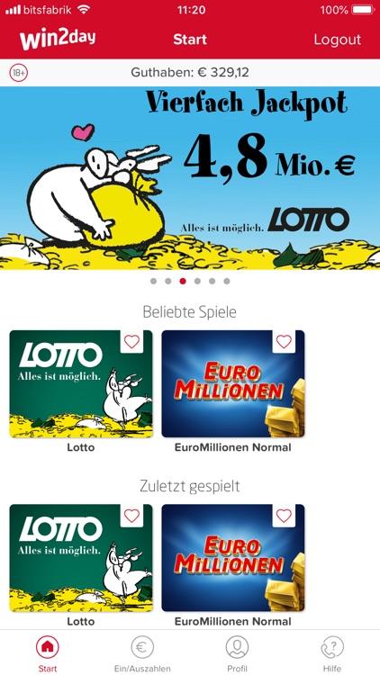Win2day Lotto Gewinne
