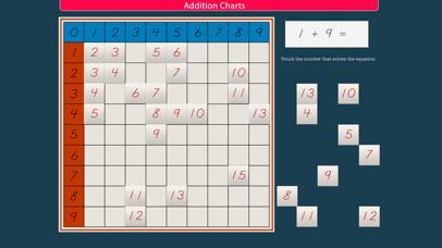 Montessori Addition Charts screenshot 7
