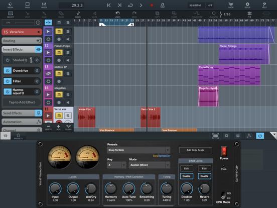 Vocal Harmonizer AUv3 Plugin screenshot 11