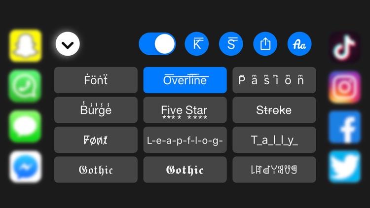 Fonts for iPhones + : Fonts+ screenshot-5