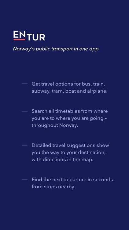 Entur - Journey Planner screenshot-3