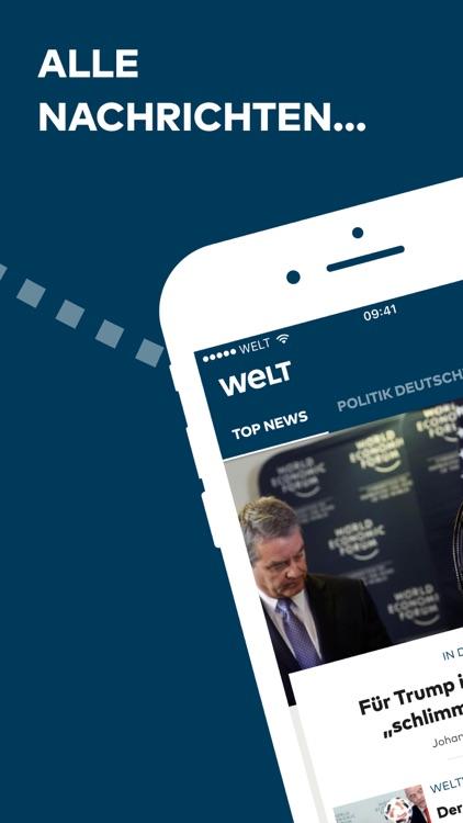 WELT News – Nachrichten live screenshot-0