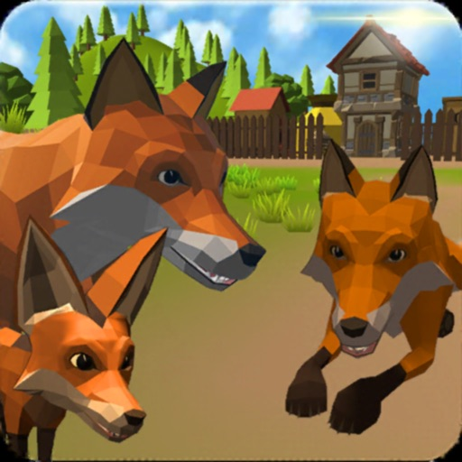 Fox Family - Animal Simulator