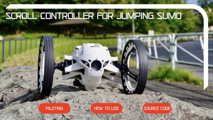 Scroll Controller Jumping Sumo