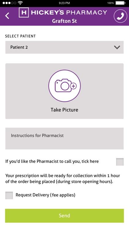 Hickey's Pharmacy App