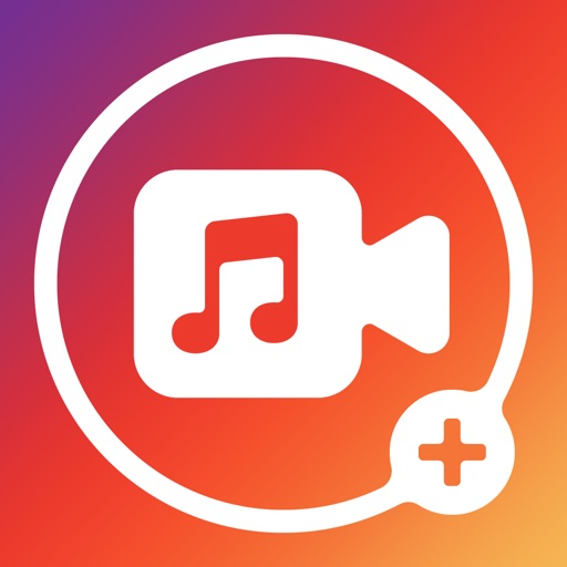 Add Background Music To Video app logo