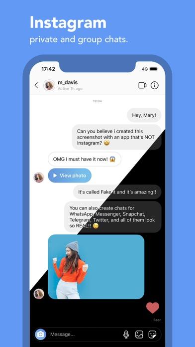 Instagram apk fake chat 10 Best