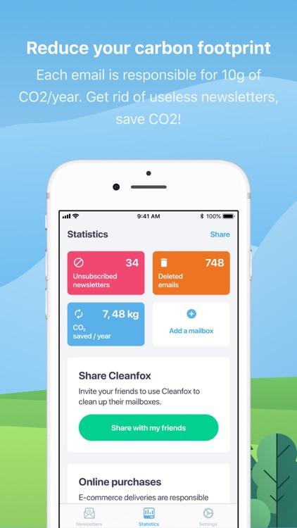 Cleanfox - Mail & Spam Cleaner screenshot-3