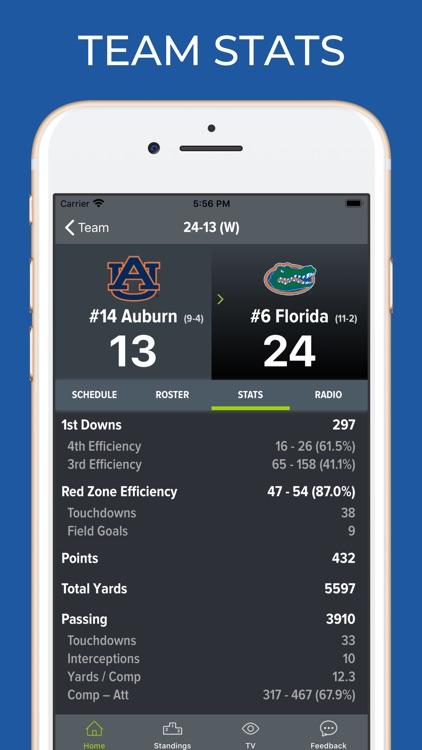 Florida Football Schedules screenshot-4