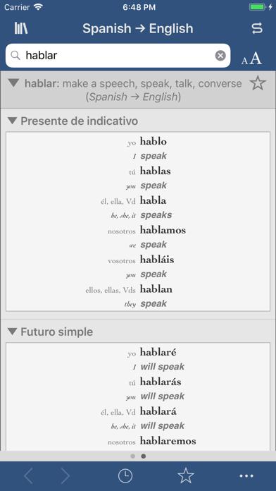 Ultralingua Spanish-Englishのおすすめ画像2