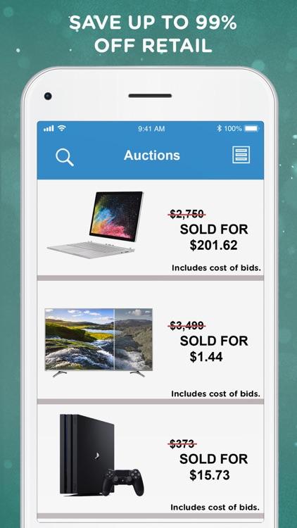 DealDash - Bid & Save Auctions screenshot-3