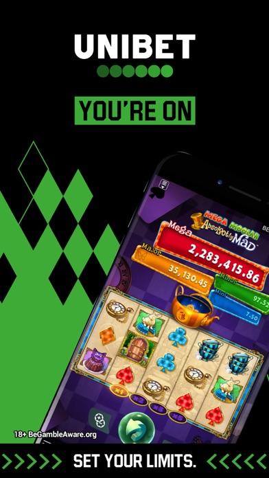 Unibet Casino – Slots & Games screenshot one