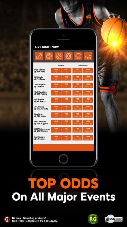 888 Sport: Live Betting NJ screenshot-3