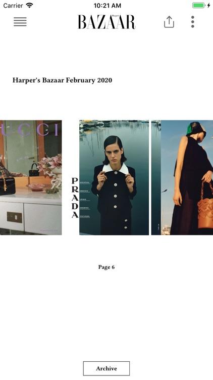 Harper's Bazaar UK screenshot-3
