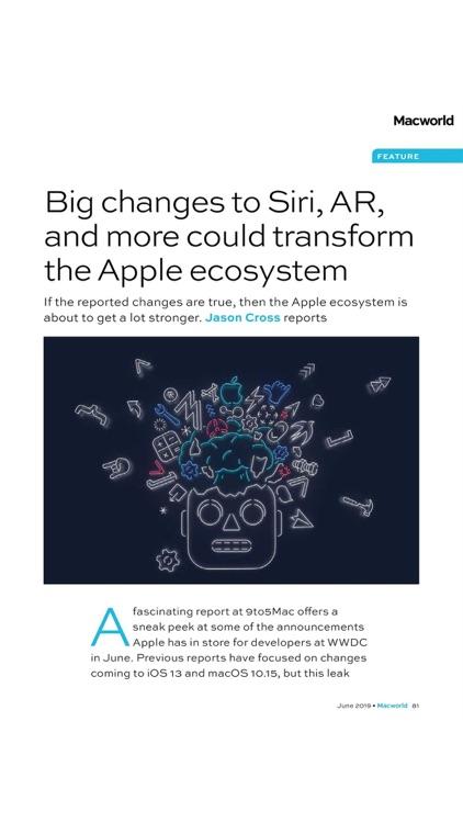 Macworld UK Magazine screenshot-8